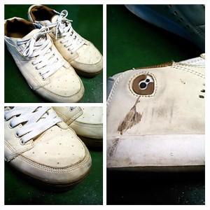 靴の汚れBefor