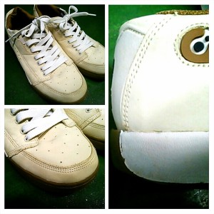靴の汚れAfter